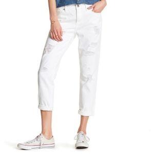 Lucky Brand Sienna Slim Boyfriend Jean In White